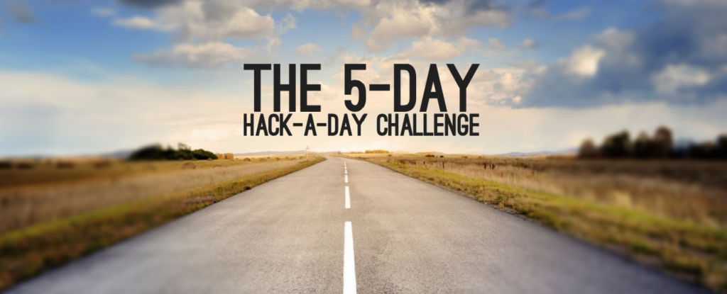 The 5-day hack-a-day time management challenge #challenge #timemanagementchallenge